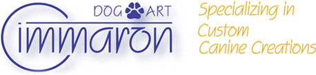 Cimmaron Dog Art Main Page Logo Area