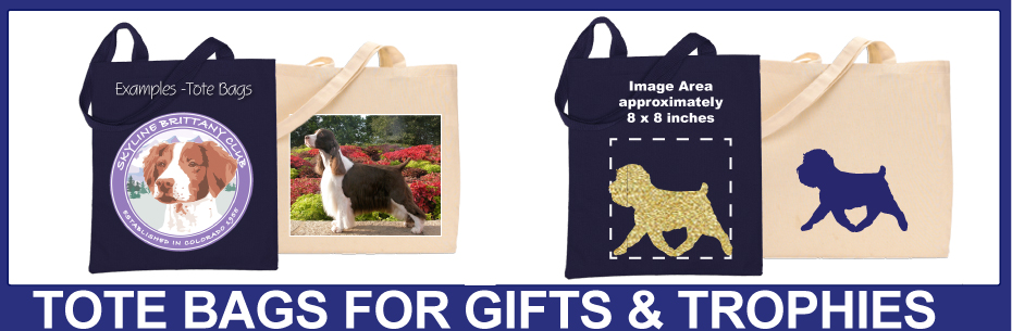 Cimmaron Dog Art Tote Bags