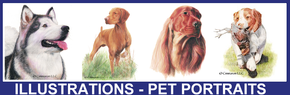 Cimmaron Dog Art Pet Portraits