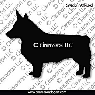 Swedish Vallhund Bob Tail Silhouette