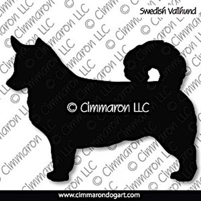Swedish Vallhund Silhouette