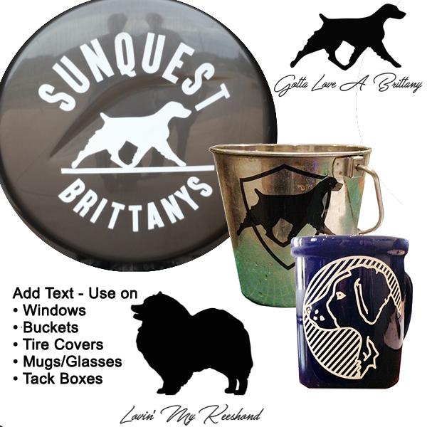 Greyhound SIlhouette | Window Sticker | Decal