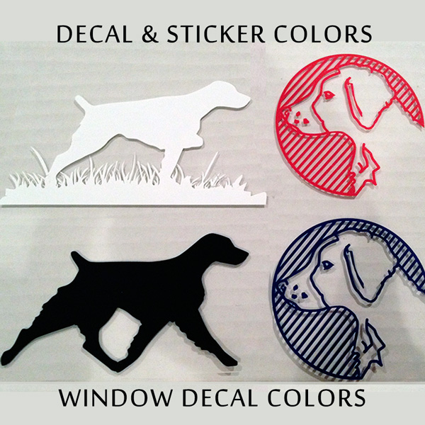 bass001decal - Basset Hound Silhouette | Window Sticker | Decal