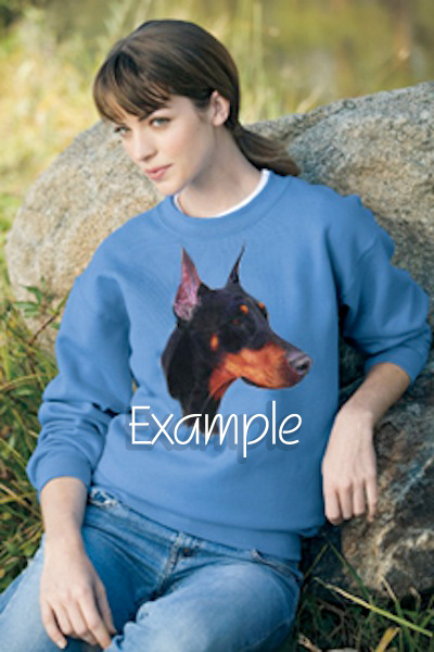 collier001s - A Frame Rough Collie Sweatshirt or Hoodie.