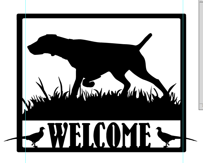 Welcome GSP Field Welcome sign