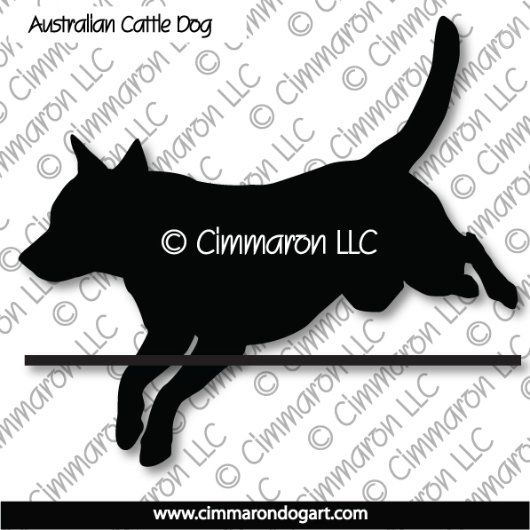 acd006d - Australian Cattle Dog Jumping Stickers