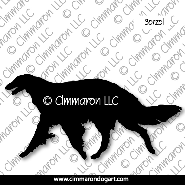 borzoi002d - Borzoi Gaiting Decals