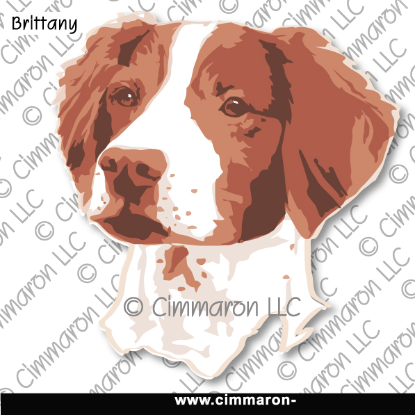 britt022tote - Brittany Portrait Line Drawing Tote Bag