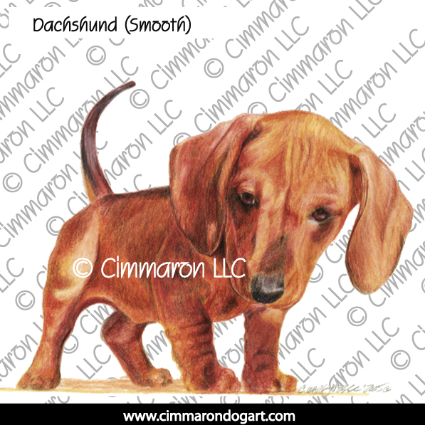 doxie008s - Dachshund (Smooth) Puppy Sweatshirt