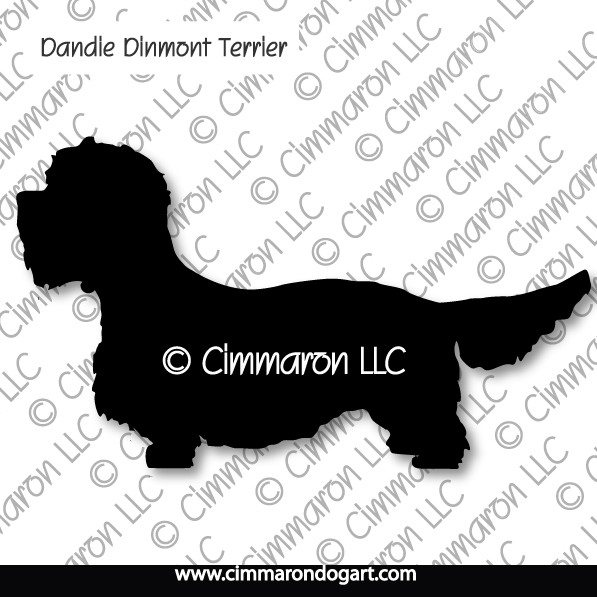 dandi001ls - Dandie Dinmont  Terrier Long Sleeved T