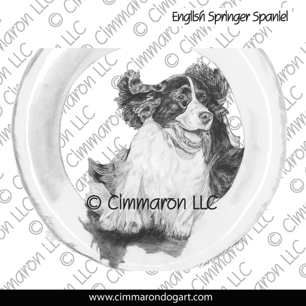 ess012h - English Springer Spaniel Weaves Hoodie
