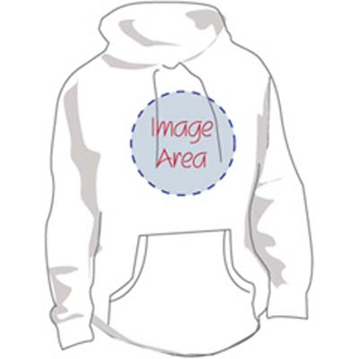 custom-hd - Personalized Hooded Sweatshirt with Image & Text