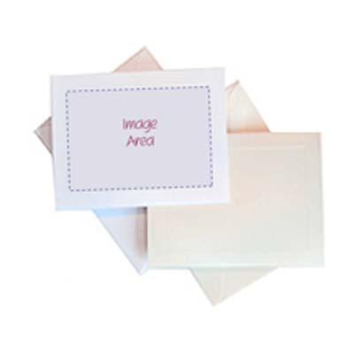 Personalized Note Cards with Image & Text