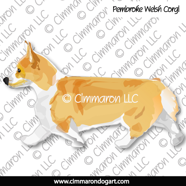 corgi011tote - Corgi-Pembroke Color Gaiting Tote Bag