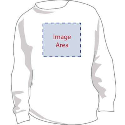custom-ss - Personalized Sweatshirt with Image & Text